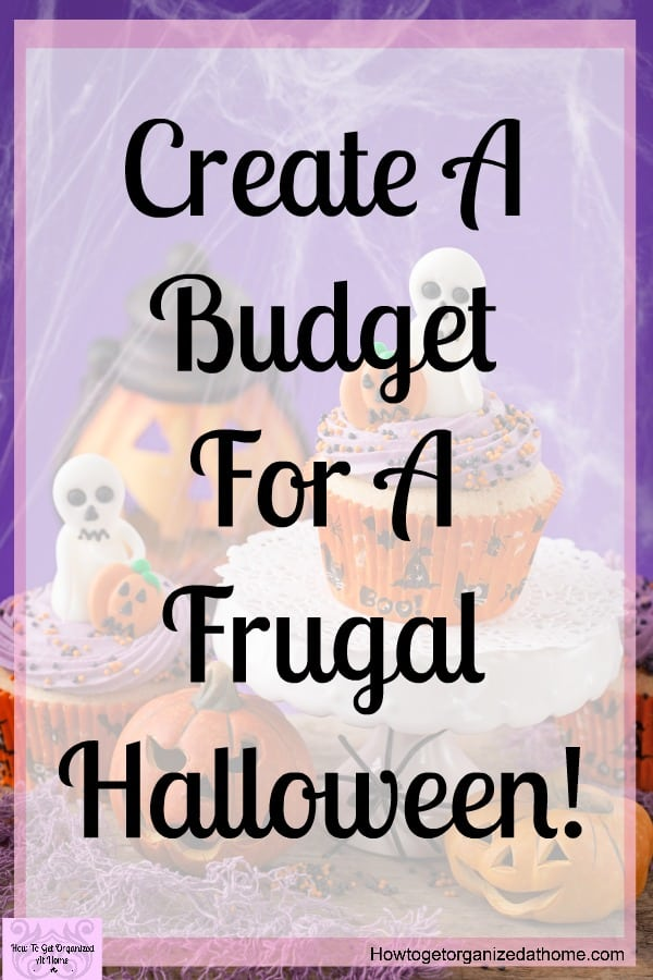 Create a simple budget for a frugal Halloween experience! You don't have to spend a fortune to have a magical Halloween night! Create a budget and get creative with your family!