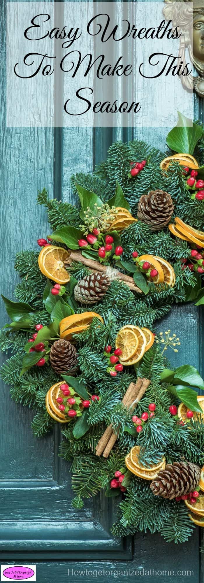 If you are looking for easy wreaths to make this season, then this article is perfect. It is filled with a selection of different wreaths for you to make!