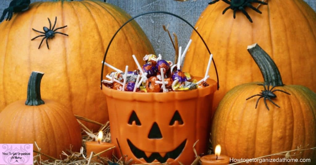 Simple Halloween on a budget is less stressful and more fun!