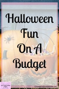 Make Halloween affordable this year by creating a budget just for Halloween! It's simple and easy and makes Halloween even more fun!