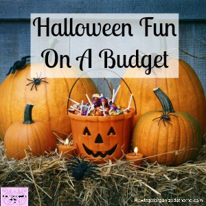 When it comes to Halloween you don't have to spend a fortune to have fun!