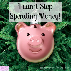 How to quit spending money that you don't have!