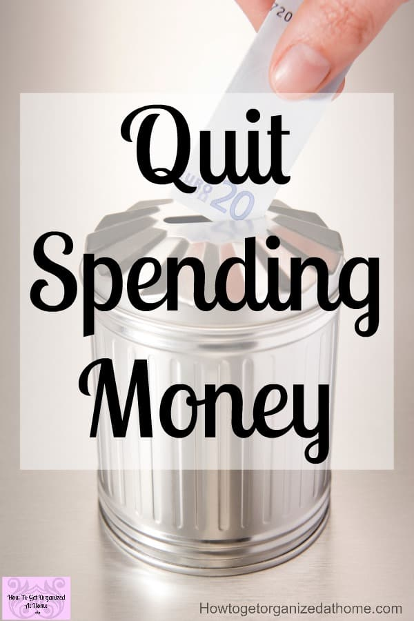 If you need to quit spending more money than you make then this is for you! It's full of tips to help you cut back on your spending and start to see your money working for you!