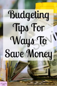If you want the best tips to save money then these will help you save money fast! These simple ideas will having you saving money in no time