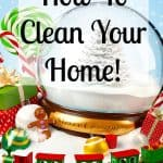 Do you want to know how to deep clean your home before Christmas? There are some things you can just forget about doing! Get the tips to make your home sparkle and shine!