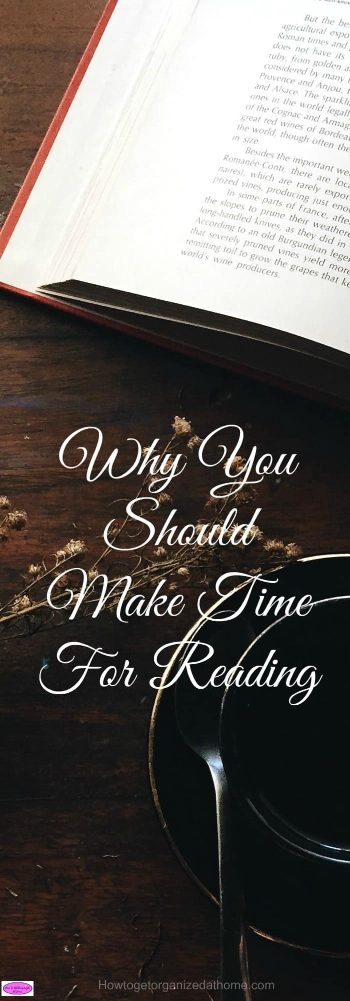 If you make time for reading and to improve your own reading skills it will have an effect on your life as reading is an important skill to learn!