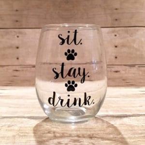 dog-themed-glass