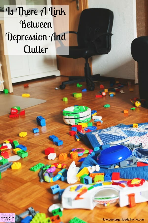 There is no medical link between depression and clutter, however, depression can make dealing with life difficult. Click to see how you can help yourself!
