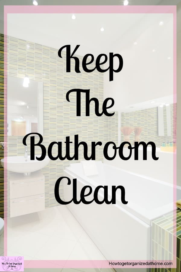 Do you want to know how to sanitize a bathroom, or do you want to deep clean your bathroom? These 15 tips will inspire you to clean your bathroom!