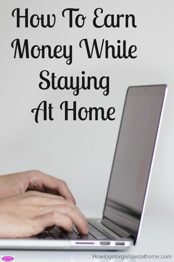 Have you ever wanted to stay at home with your family, yet still bring in an income? This will show you how to earn money while staying at home!