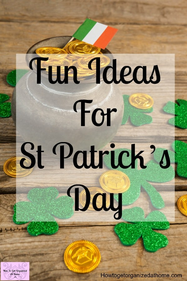 Are you looking for fun decoration ideas for St Patrick's day? With decorations to make and food to decorate? Then this article is just what you are looking for!