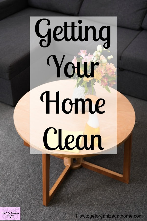 Looking for tips and ideas for a clean home? These cleaning tips will help you really get your home sparkling clean!