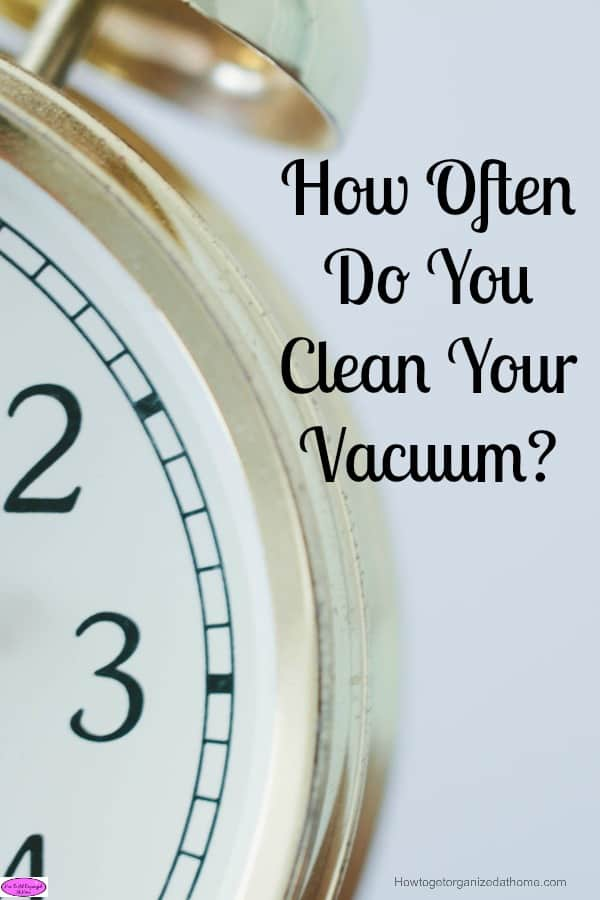 You can't clean your home properly if your cleaning tools are not taken care off! It is important to clean your vacuum regularly to ensure it is working!