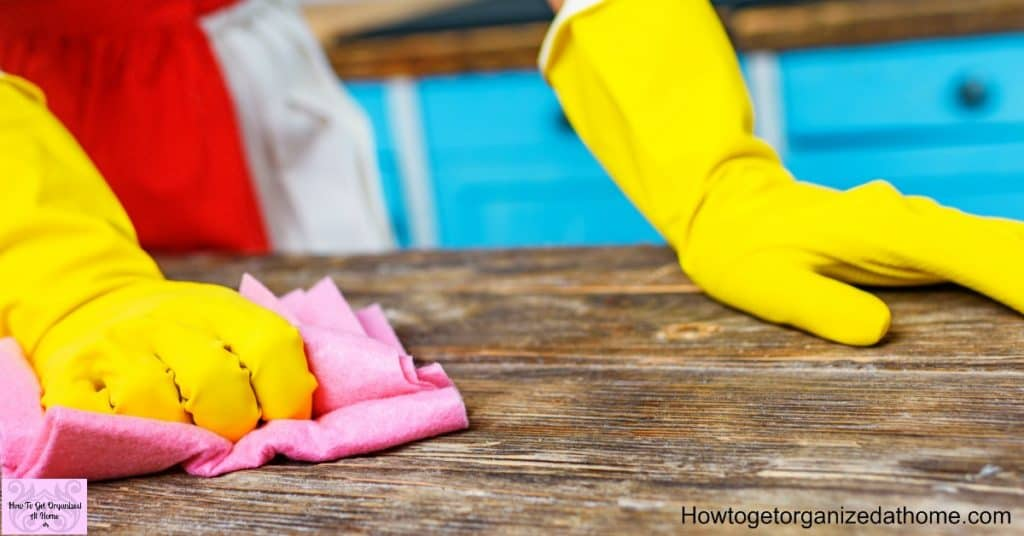 Make cleaning easier with these tips to getting your home clean