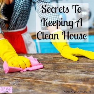 Take control of the cleaning in your home with these house cleaning tips and hacks!