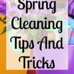 Simple spring cleaning tips and tricks for the home! Get your home sparkling clean and ready for the summer, with these simple and easy tips!