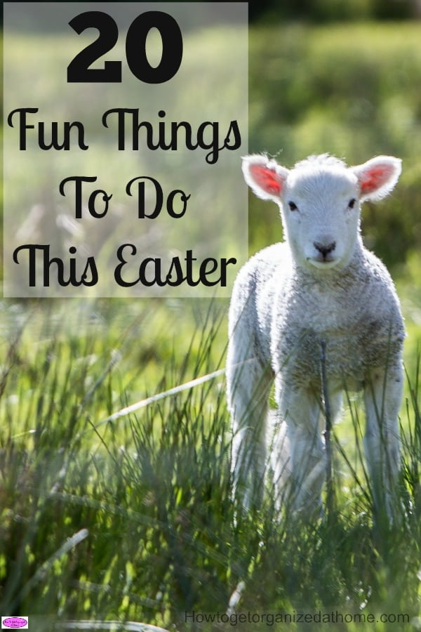 If you are looking for some inspiration for some really fun things to do this Easter, I am sure you will find activities here to keep you entertained.
