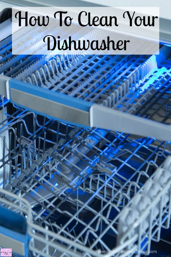 How to clean your dishwasher is really simple, the important thing to do is to make sure that you are doing this regularly will ensure it stays clean and fresh!