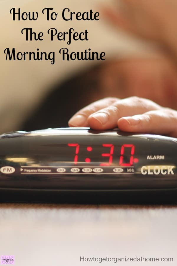 If you need to improve your morning routine, create a plan and work out what you want to achieve first!