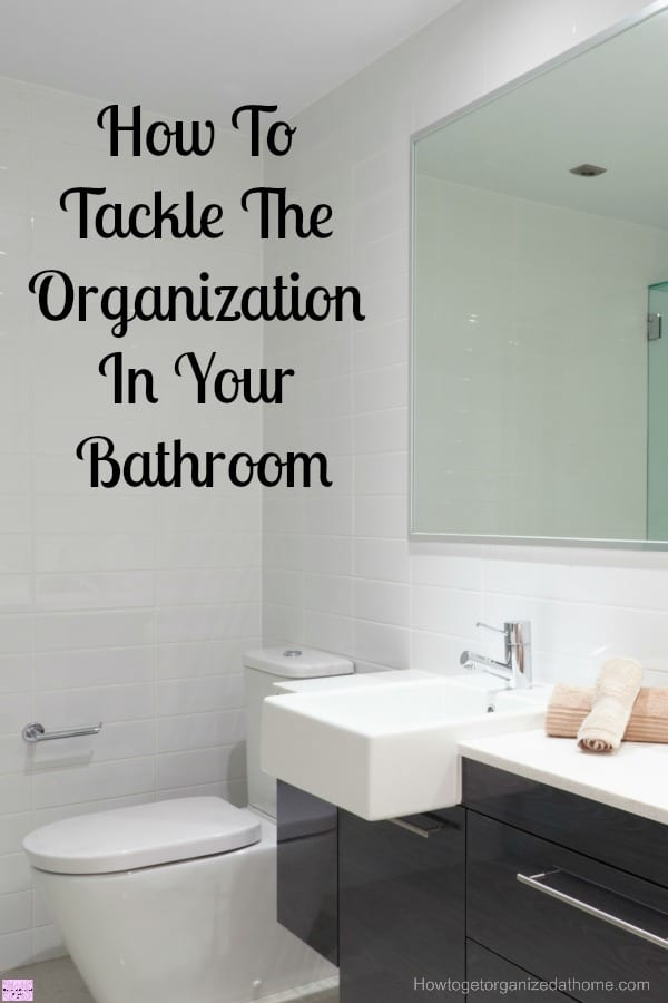 How you tackle the organization in your bathroom is important, it can quickly become a mess with no hope of finding a thing! Learn how to take back control.