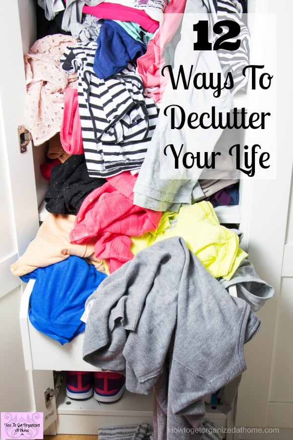 If you are looking for ways to declutter your life, it might surprise you to consider looking at your mind too! Decluttering your mind is important too!