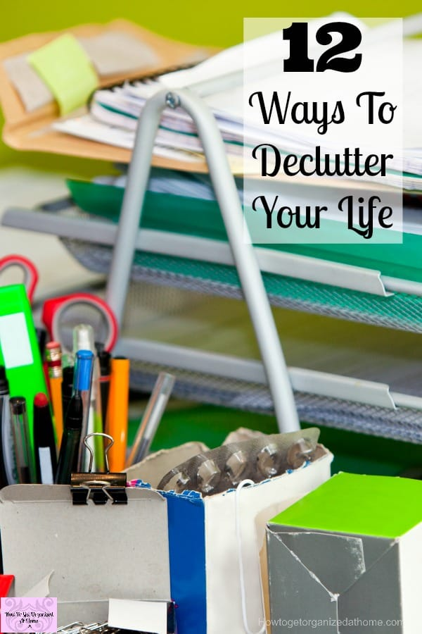 If you are overwhelmed by clutter you need to take action to remove it from your life! Don't think you need to do it in one go, it takes time to complete and maintain!