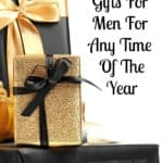 Gift buying for men can be awkward, they are not the easiest to buy for! Here are some great gifts to inspire you!