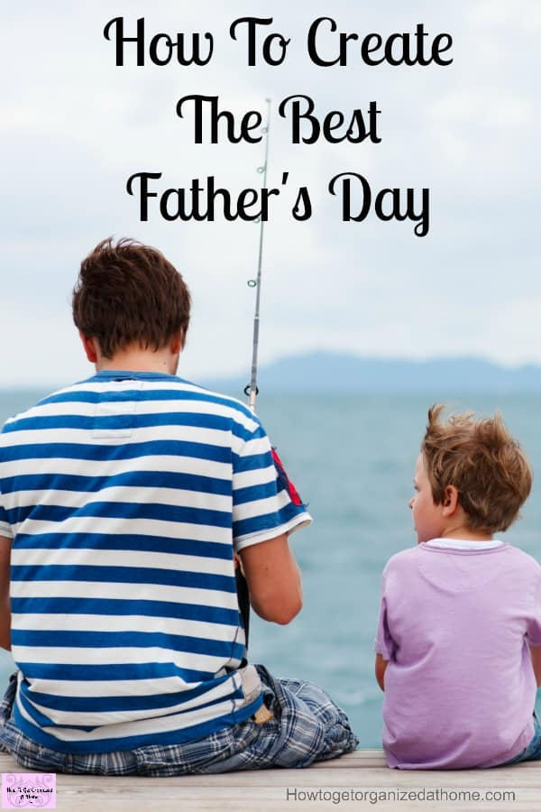 Creating memories with your family is priceless! Some great ideas to inspire you for Father's Day