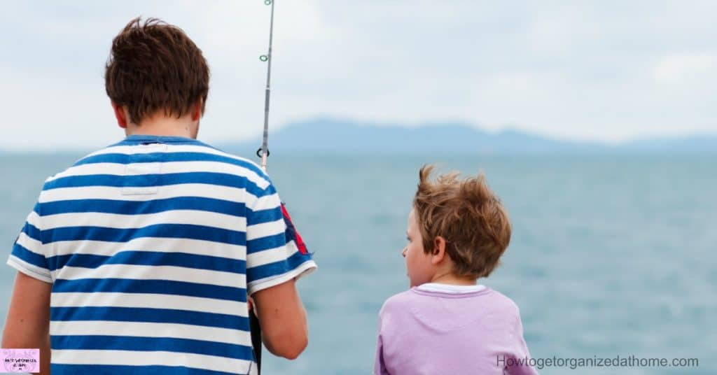 Don't stress about the material stuff! Create memories and fun things to do this Father's Day