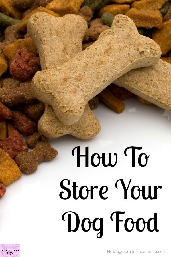 When storing your dog food make sure that you are keeping it as fresh as possible! You don't want it to go stale!