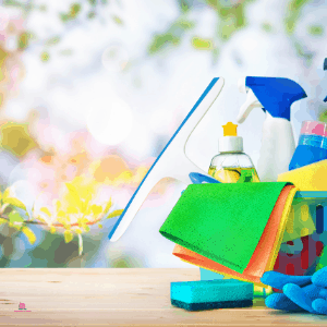 to clean houses