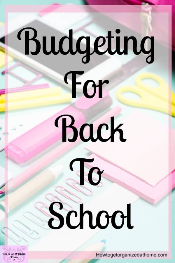 Do you need help when it comes to budgeting for back to school supplies? Let me help you with these back to school budgeting tips for moms. They are simple and easy tips to follow to reduce your stress!