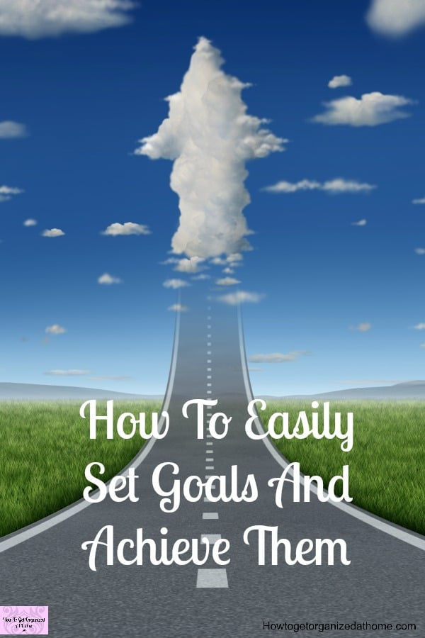It is easy to set goals and achieve them with the right tools and the right plan!