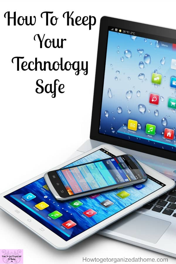 Keeping your technology and personal information safe whilst online is so important! Backing up your computer and keeping it safe is a must to keep important documents safe and secure!