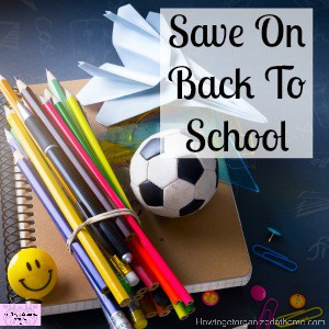 Tips for budgeting for back to school stuff!