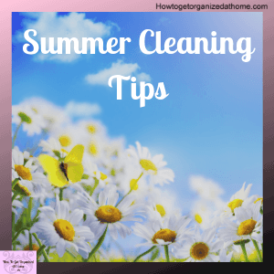 Looking for a simple summer cleaning routine that will help you keep your home clean but also give you time to have fun too? You need to read this!