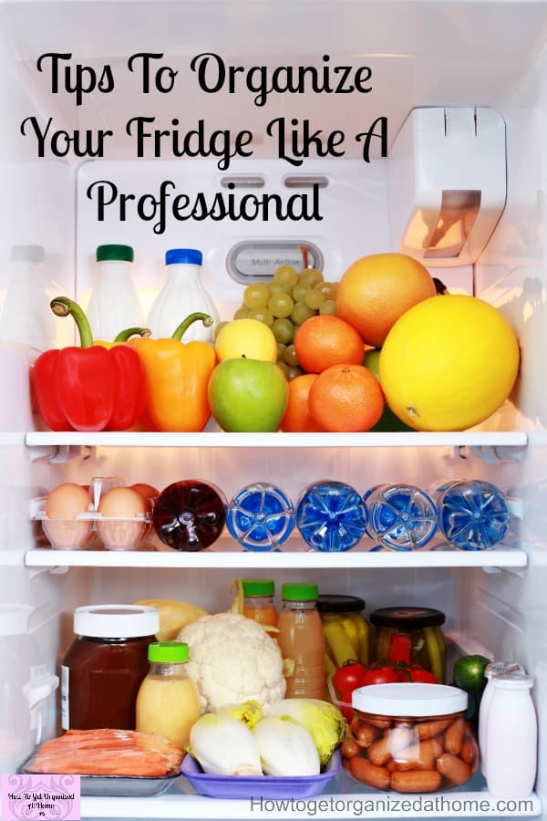 Simple and great tips to keep your fridge organized and clean every day!