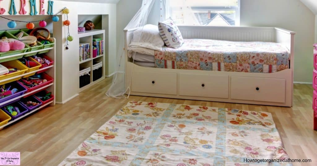 Tackling organizing the bedroom can feel like a massive task! Take your time and do it right!