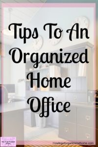 Do you need ideas for how to organize your home office? These simple tips and ideas will help you transform your home office into something that you are proud of!