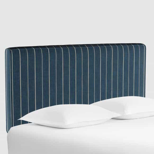 indigo blue stripe