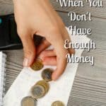 Budget your money! It is so important to know what money you have or haven't got, it can help you find the strength to turn your life around!