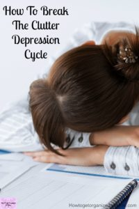 Living in a clutter free home is possible, even if you have depression! Clutter doesn't have to become part of your everyday living! You can do this!