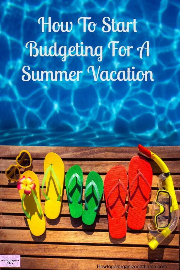 If you are going on vacation next year, it is time to start saving now! You will have enough stress with all the packing and ensure you have chosen the right activities, you don't need the added stress of paying for the vacation on credit!