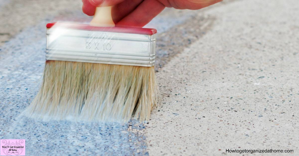 Have you thought about a painted concrete floor? There are so many options to choose from!