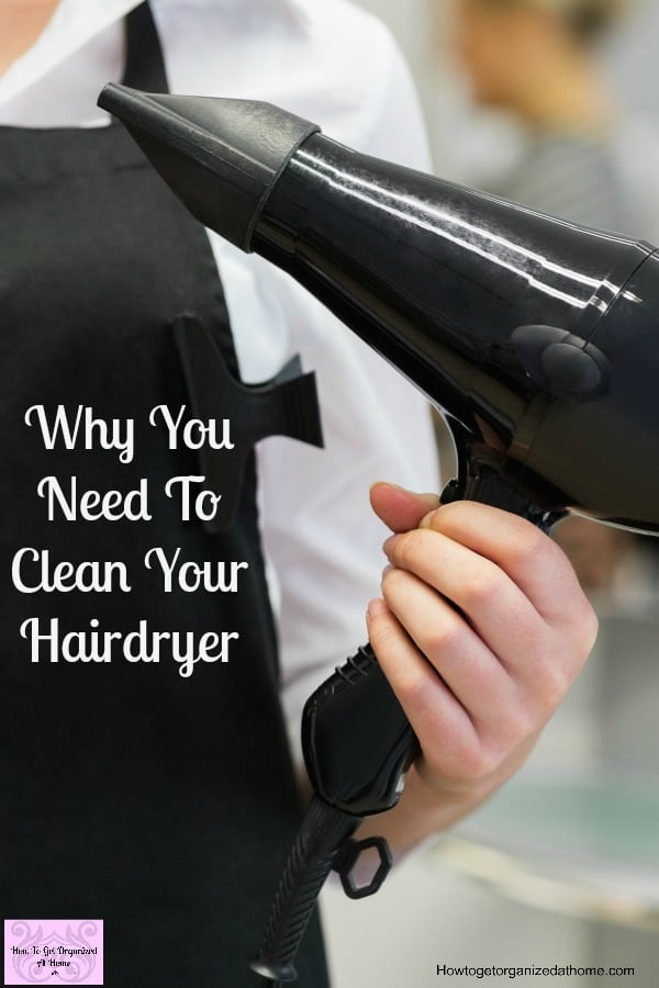 Clean your hairdryer and don't risk the safety of your home or family!
