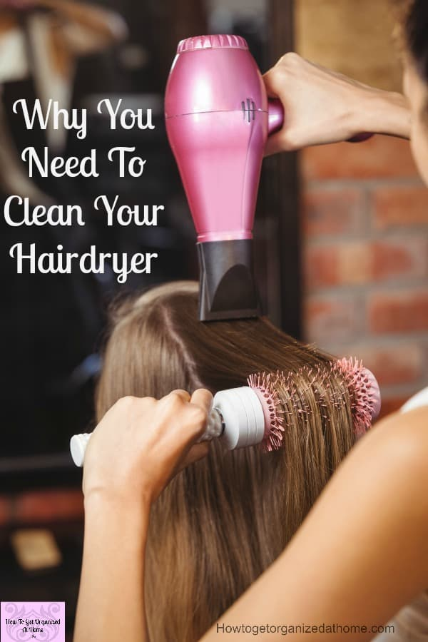 Take action today and clean your hairdryer! No matter where you store your hairdryer ensure that you keep it clean and protect your family from potential harm!