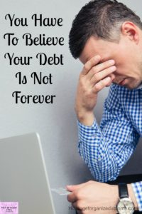 Living a debt free life is possible! You don't need anything fancy, just follow a budget!