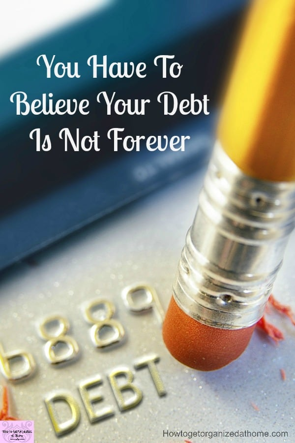 Making paying off your debt a priority is something that you should do! Living a debt free life is possible, it gives you more money as you aren't paying interest on money you've borrowed!