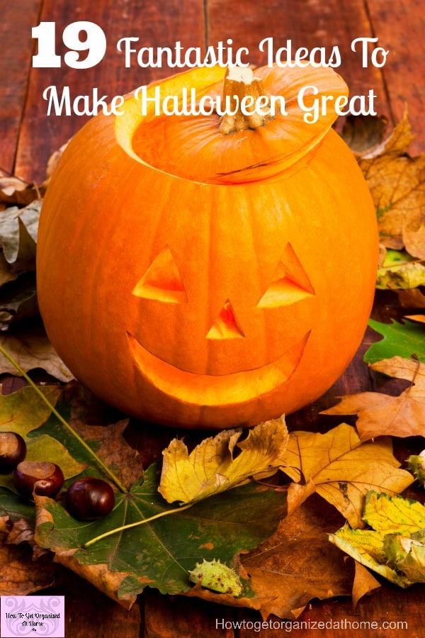 Ideas to help you decorate your home, dress up your family and create some amazing food all for Halloween!