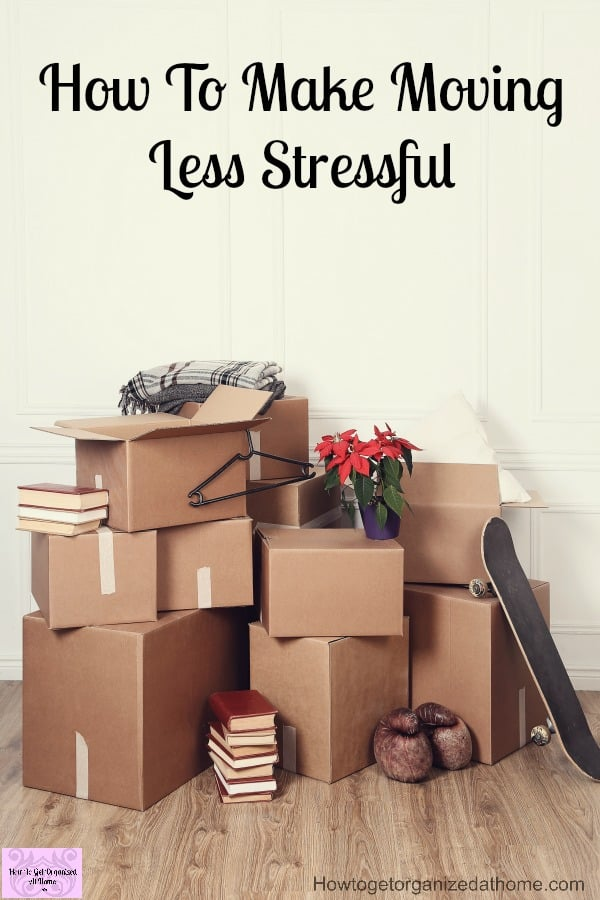If you are looking to make moving less stressful on moving day you need to plan how you are packing the boxes! Don't forget to get a few professional quotes to make sure you have the right one! Use these tips to reduce moving stress!